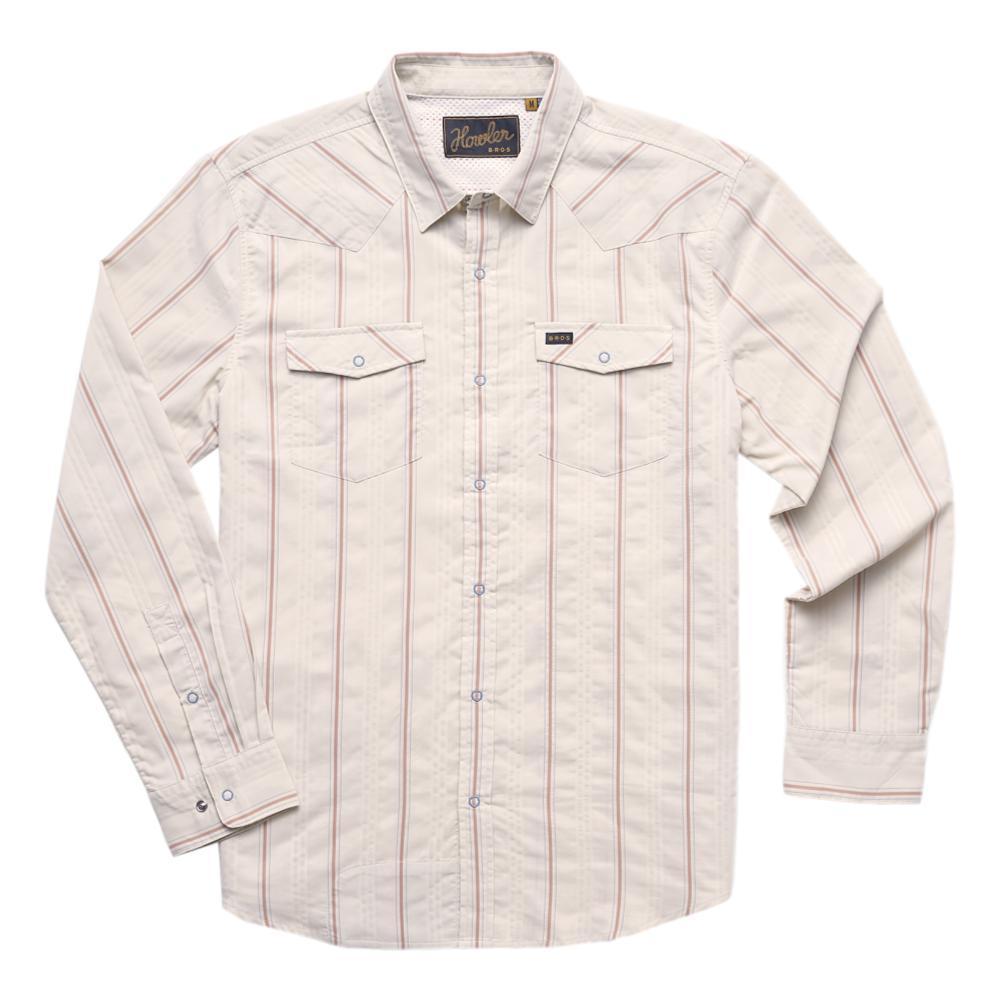 Howler Brothers Men's H Bar B Tech Longsleeve Shirt PSLATTE_PSW