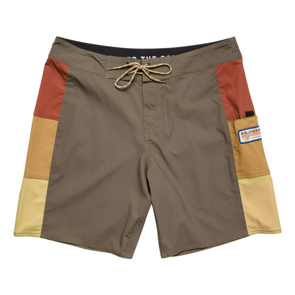 Howler Brothers Men's HB Chargers Boardshorts BROWN_TEK