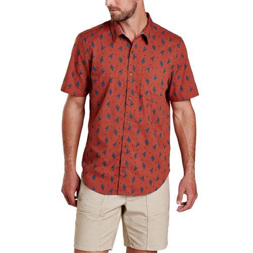 Toad&Men's Fletch Short Sleeve Shirt Cactus_609