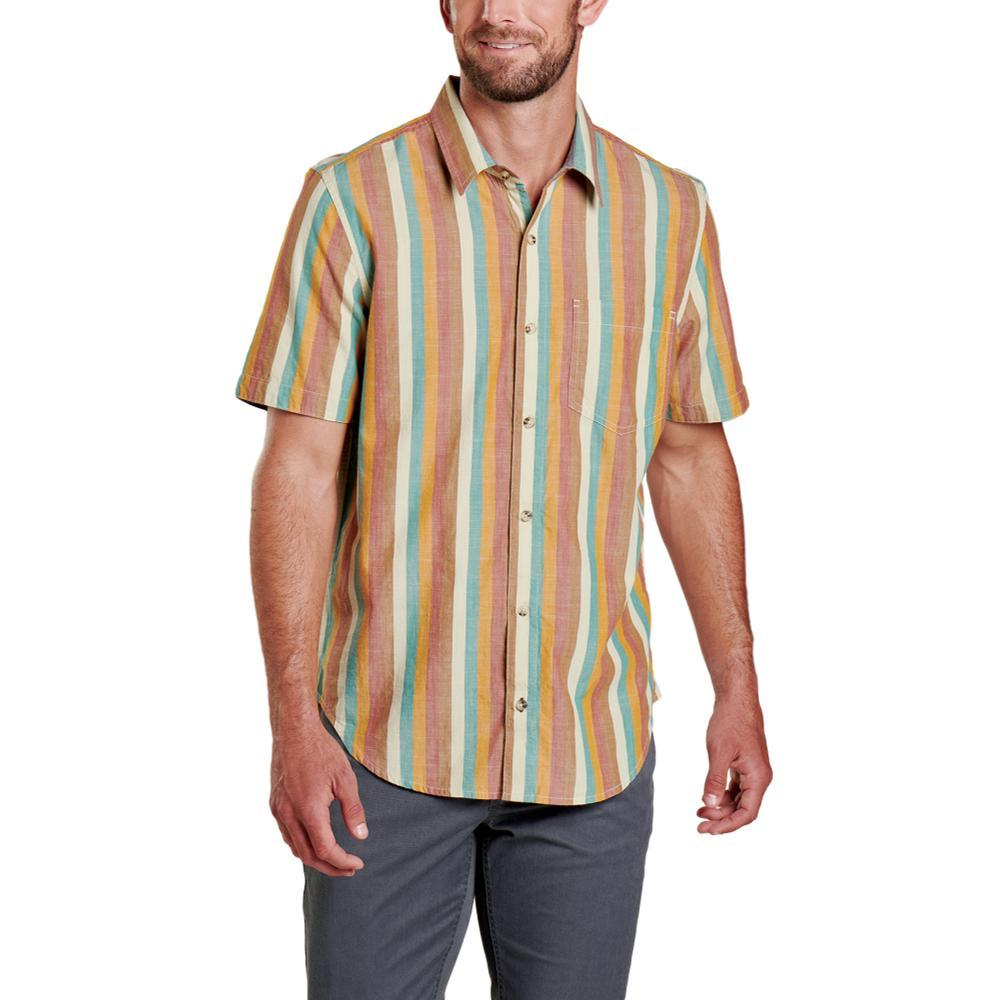 Toad&Men's Fletch Short Sleeve Shirt STRIPE_460