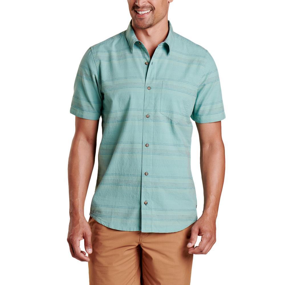 Toad&Co Men's Airlift Slim Short Sleeve Shirt BLUE_480