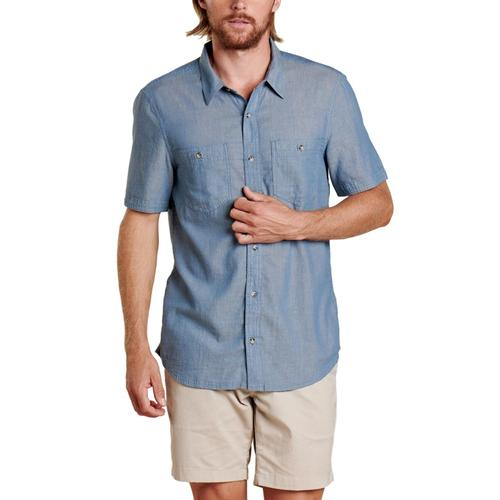 Toad&Co Men's Honcho Short Sleeve Shirt Hightide_940