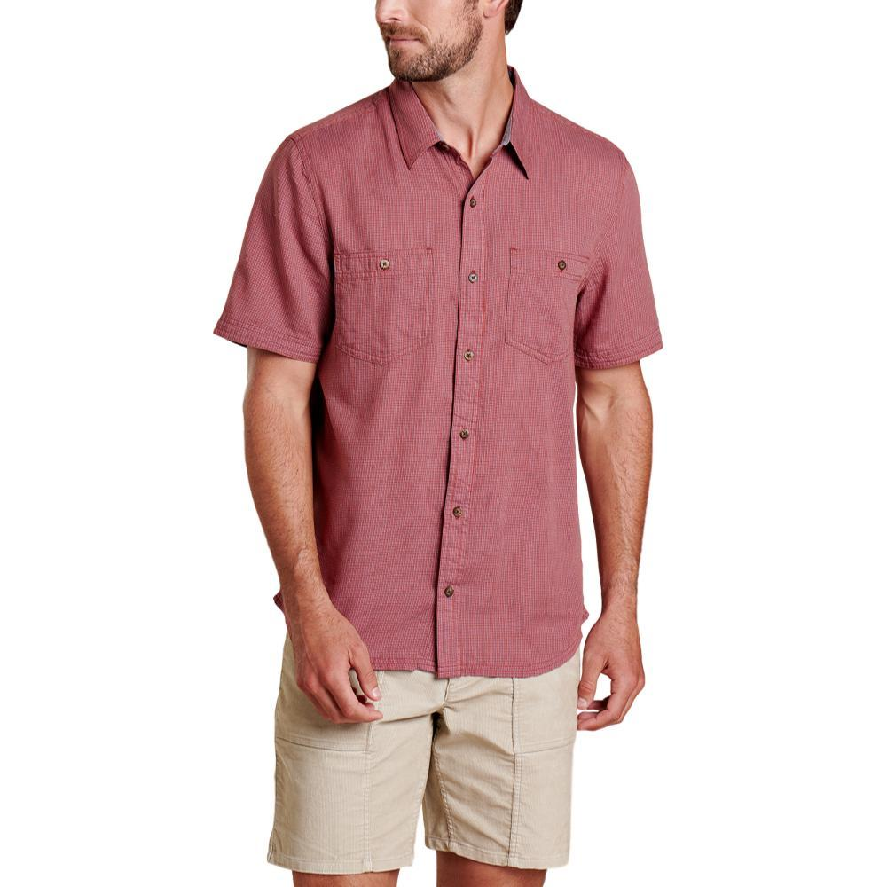 Toad&Co Men's Honcho Short Sleeve Shirt PICANTE_626