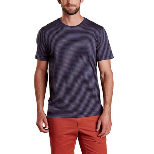 Toad&Co Men's Tempo Short Sleeve Crew Shirt Navy_408