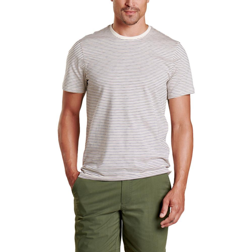 Toad&Co Men's Tempo Short Sleeve Crew Shirt SALT_050