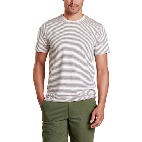 Toad&Co Men's Tempo Short Sleeve Crew Shirt Salt_050