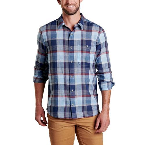 Toad&Co Men's Cuba Libre Long Sleeve Shirt Blue_961