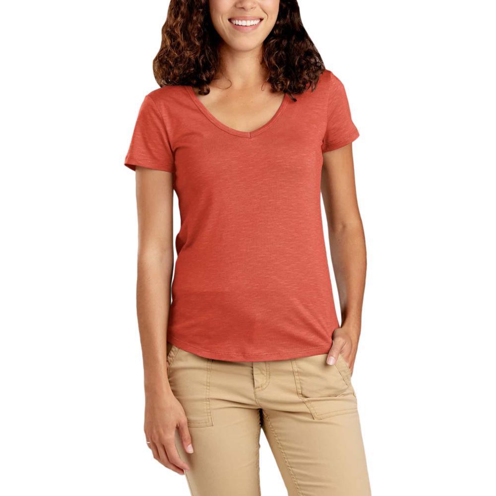 Toad&Co Women's Marley II Short Sleeve Tee AUBURN_603