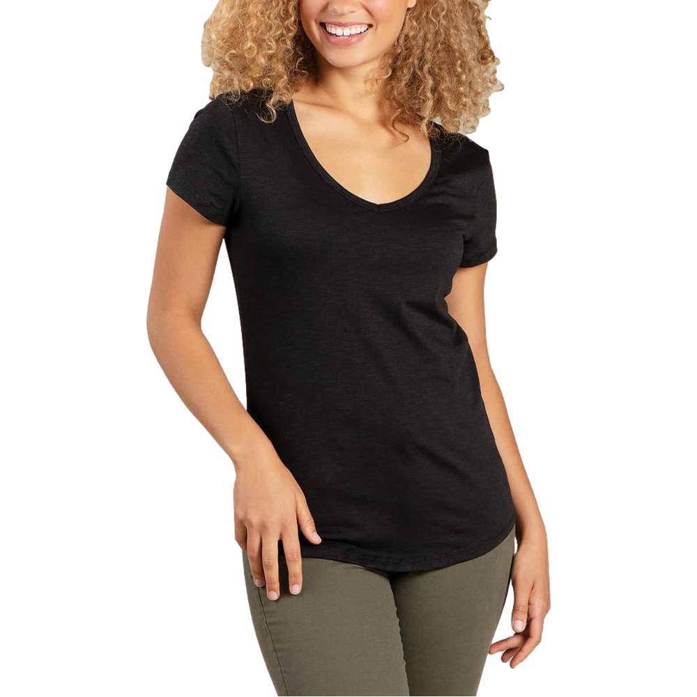 Toad&Co Women's Marley II Short Sleeve Tee BLACK_100