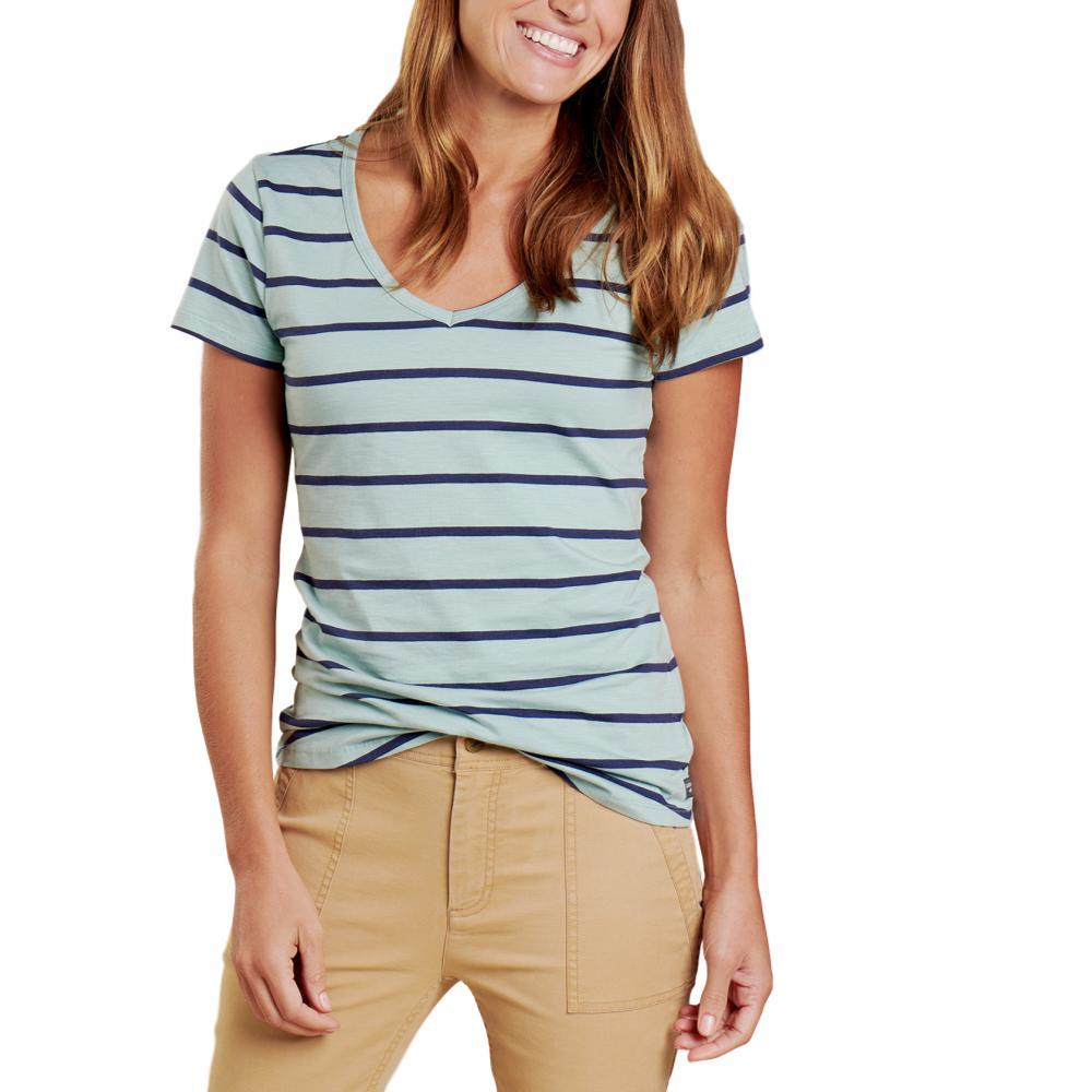 Toad&Co Women's Marley II Short Sleeve Tee BLUESURF_952