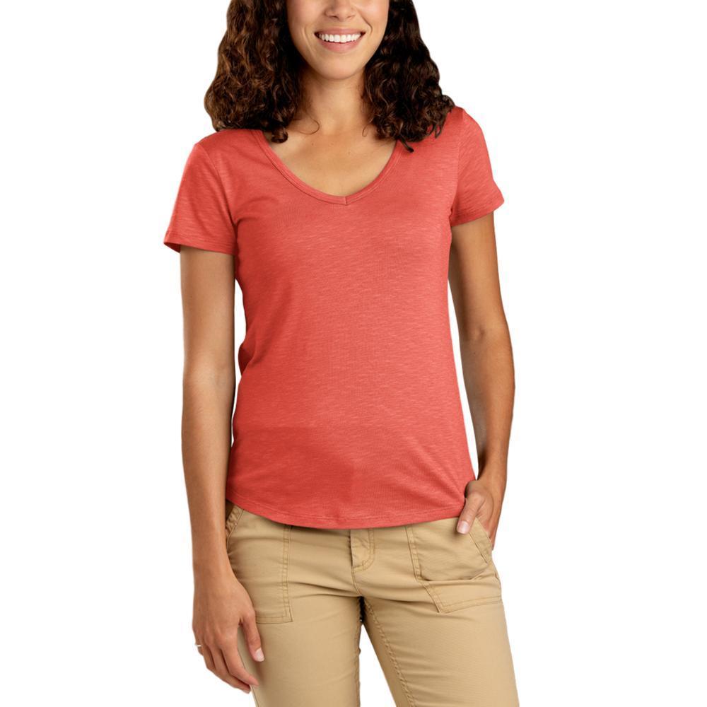 Toad&Co Women's Marley II Short Sleeve Tee CHILI_633