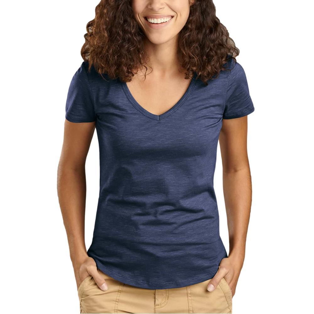 Toad&Co Women's Marley II Short Sleeve Tee TRUENAVY_414