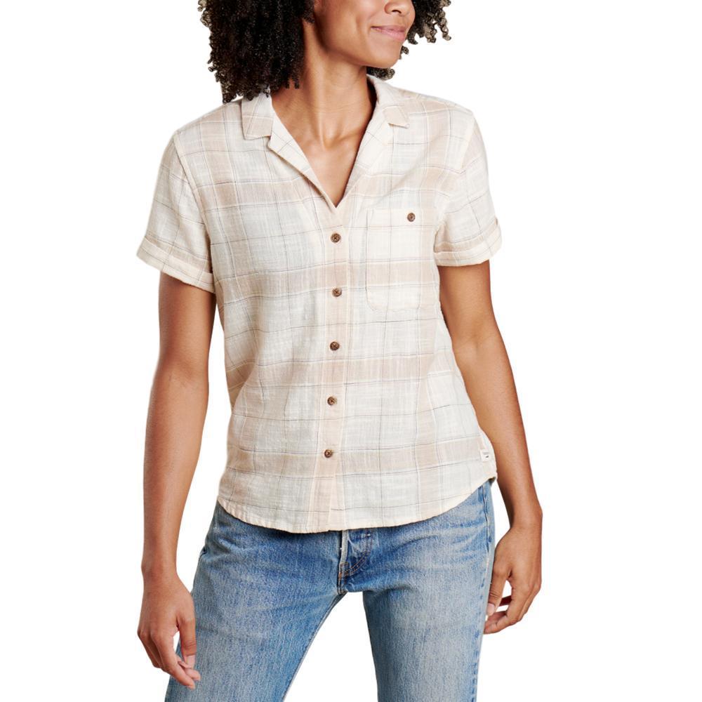 Toad&Co Women's Camp Cove Short Sleeve Shirt SALT_199