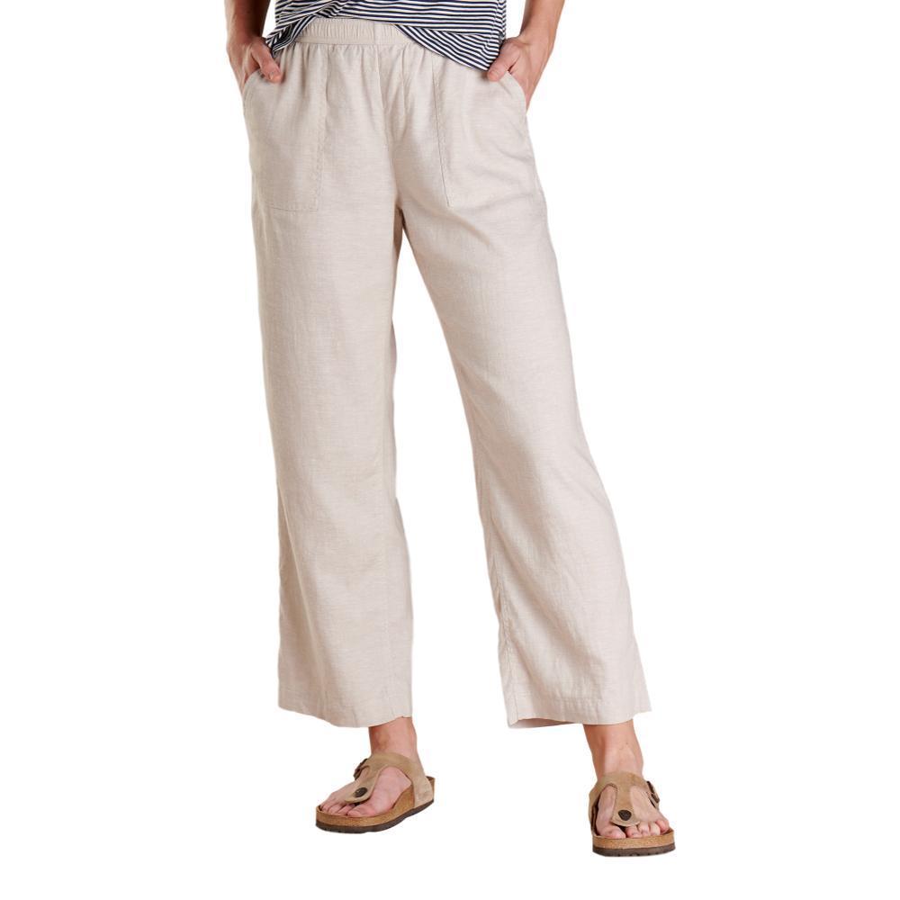 Toad&Co Women's Taj Hemp Pants OATMEAL_223
