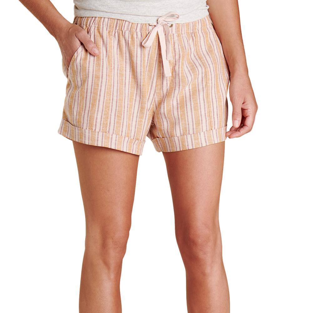Toad&Co Women's Taj Hemp Shorts SUNSET_807