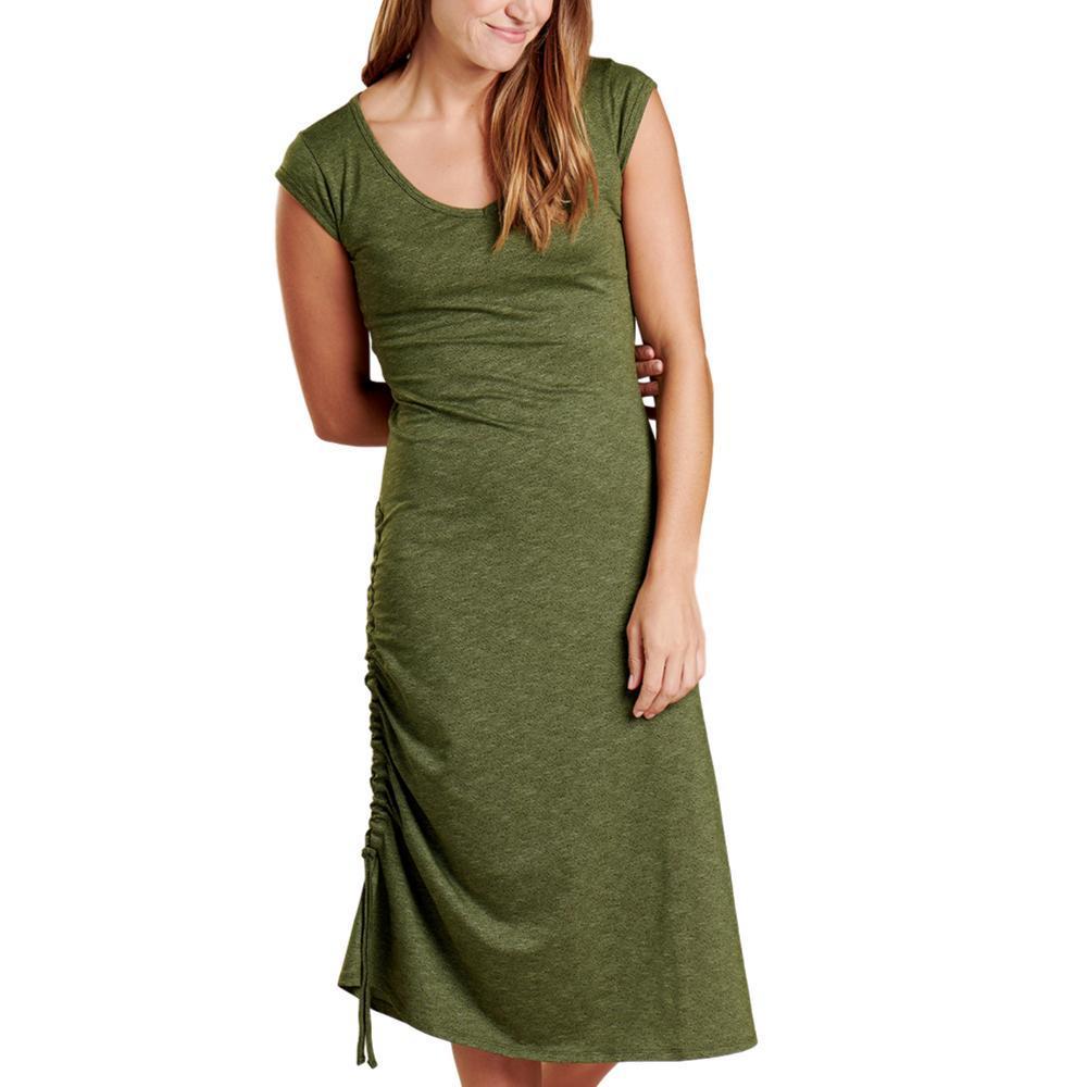 Toad&Co WomenÕs Samba Muse Dress GREEN_309
