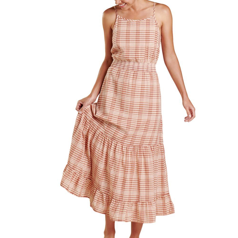Toad&Co Women's Airbrush Maxi Dress GINGHAM_692