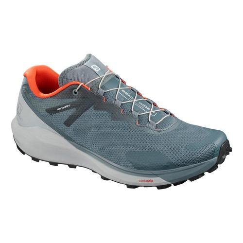 Salomon Men's Sense Ride 3 Trail Running Shoes Strm.Prl.Lblu