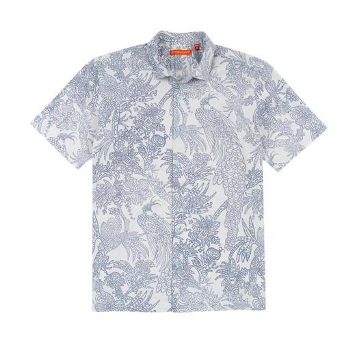 Tori Richard Men's Strut Your Stuff Short Sleeve Shirt Natural