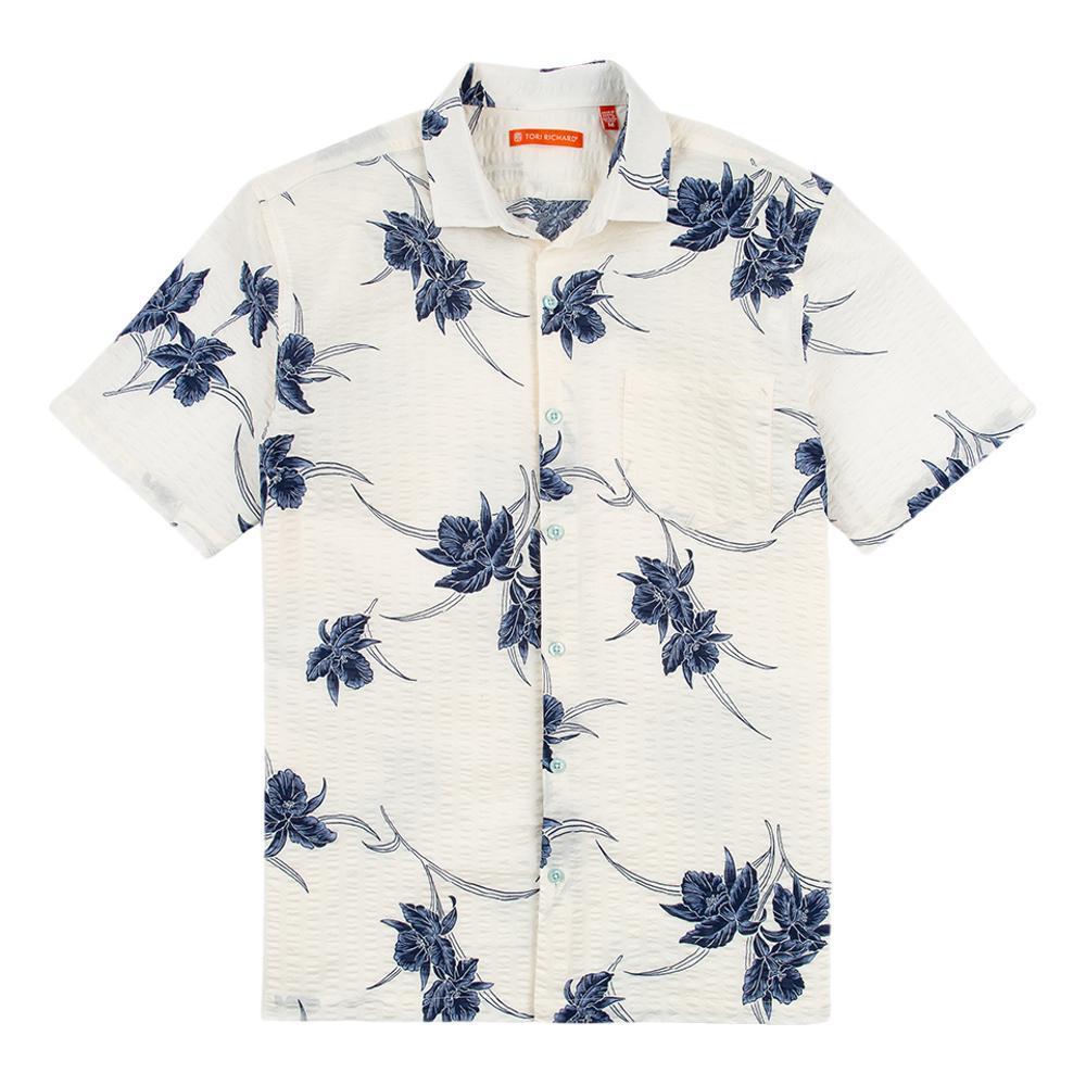 Tori Richard Men's Cattleya Short Sleeve Shirt WHITE