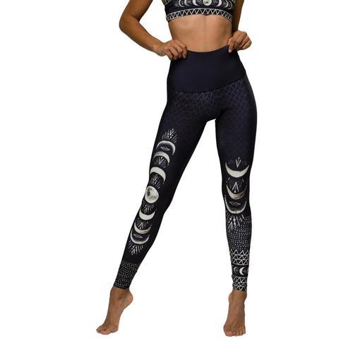 Onzie Women's High Rise Graphic Leggings Laslunas