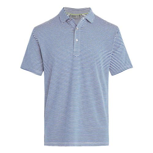 tasc Men's Air Stretch Polo Stripe Nautical_477