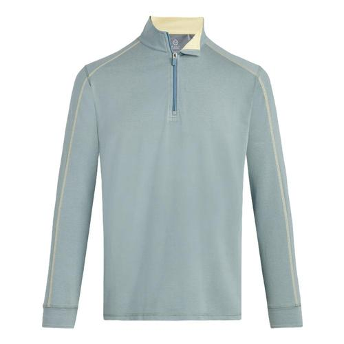 tasc Men's Carrollton 1/4 Zip Top Lemonade_61