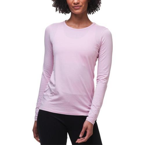tasc Women's NOLA Crew Neck Long Sleeve Shirt Lily_685
