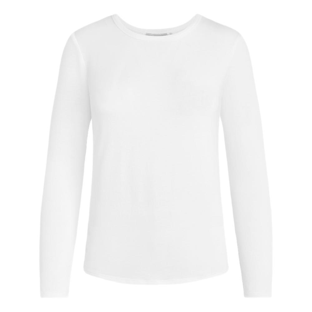 tasc Women's NOLA Crew Neck Long Sleeve Shirt WHITE_100