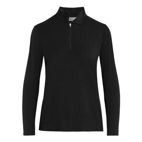tasc Women's St. Charles 1/4 Zip Jacket Black_001