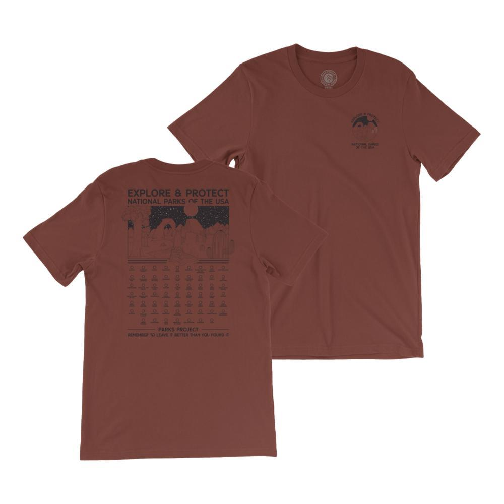 Parks Project Unisex Fill-In Your Park Tee RUST