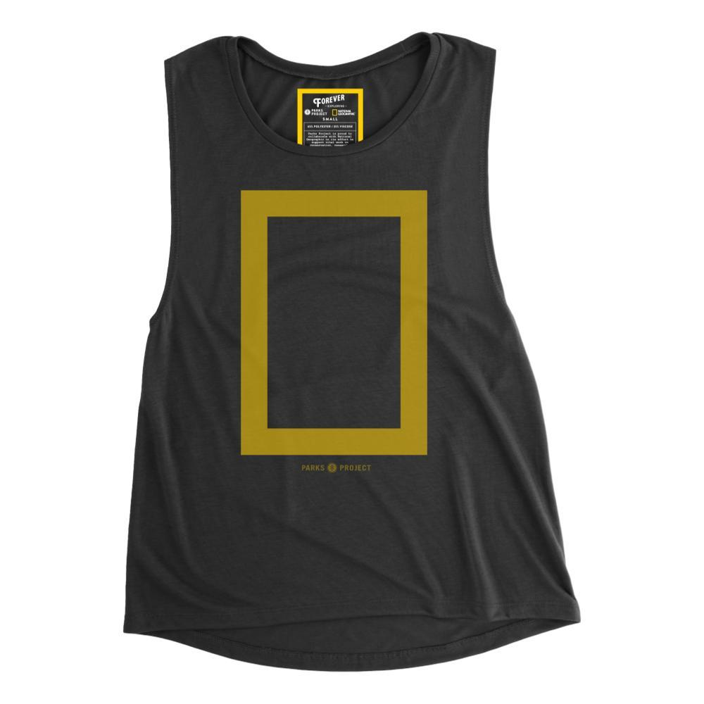 Parks Project Women's National Geographic X Border Muscle Tank  BLACK