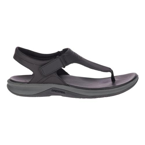 Merrell Women's Tideriser Luna Convert Leather Sandals Black