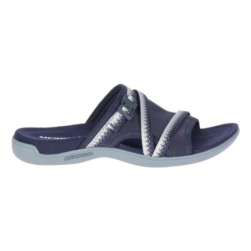 Merrell Women's District Muri Slides Navy.Gry