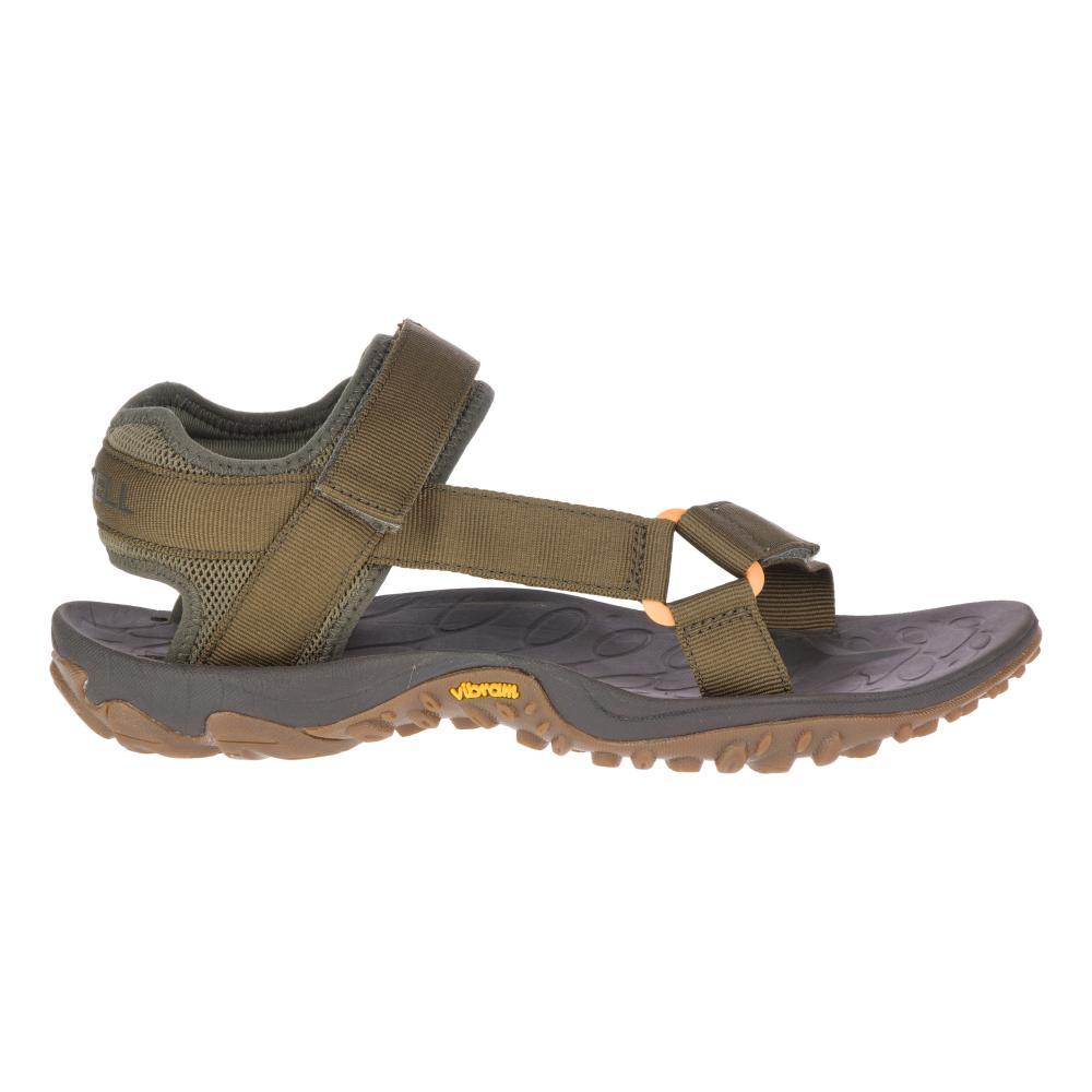 Merrell Men's Kahuna Web Sandals OLIVE