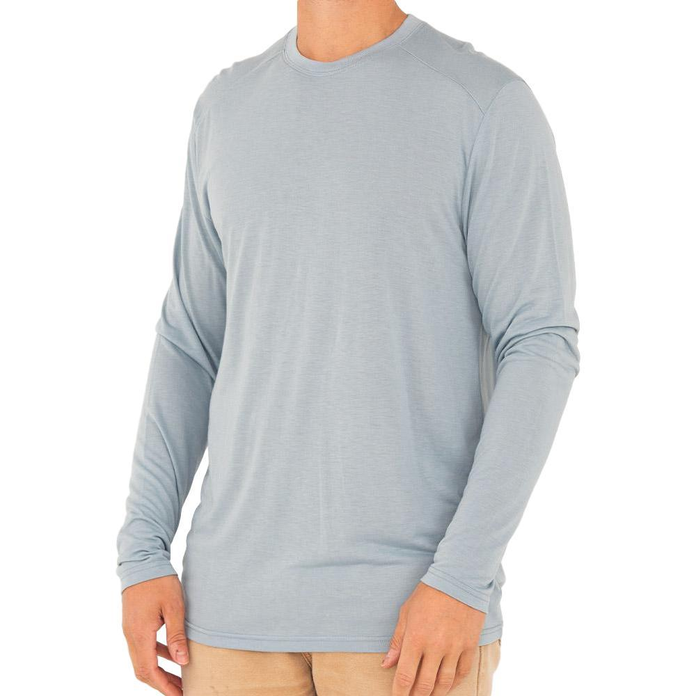 Free Fly Men's Bamboo Lightweight Long Sleeve Shirt CAYSBLUE117