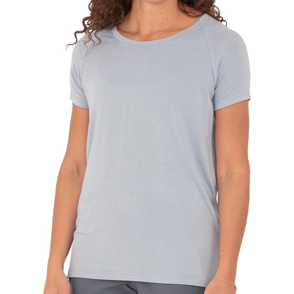 Free Fly Women's Bamboo Explorer Tee CAYSBLUE_110