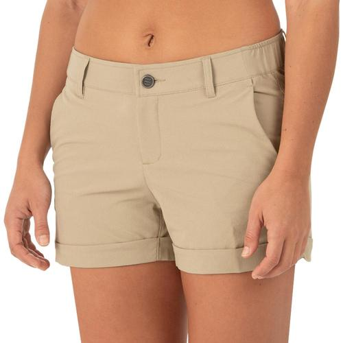 Free Fly Women's Utility Shorts Khaki_101
