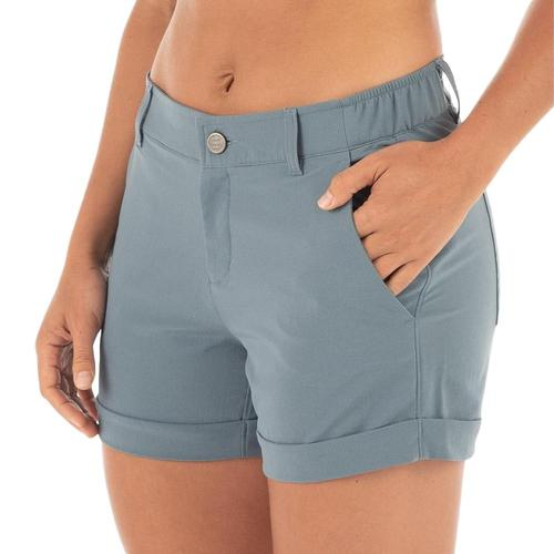 Free Fly Women's Utility Shorts Pacific_105