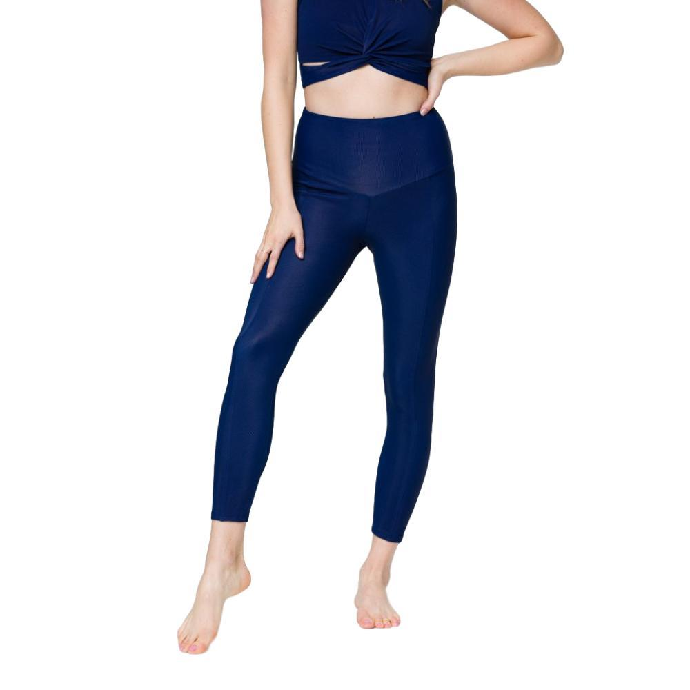 Onzie Women's Sweetheart Midi Leggings MARINE