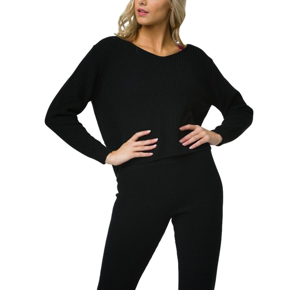 Onzie Women's Ballet Sweater BLACK