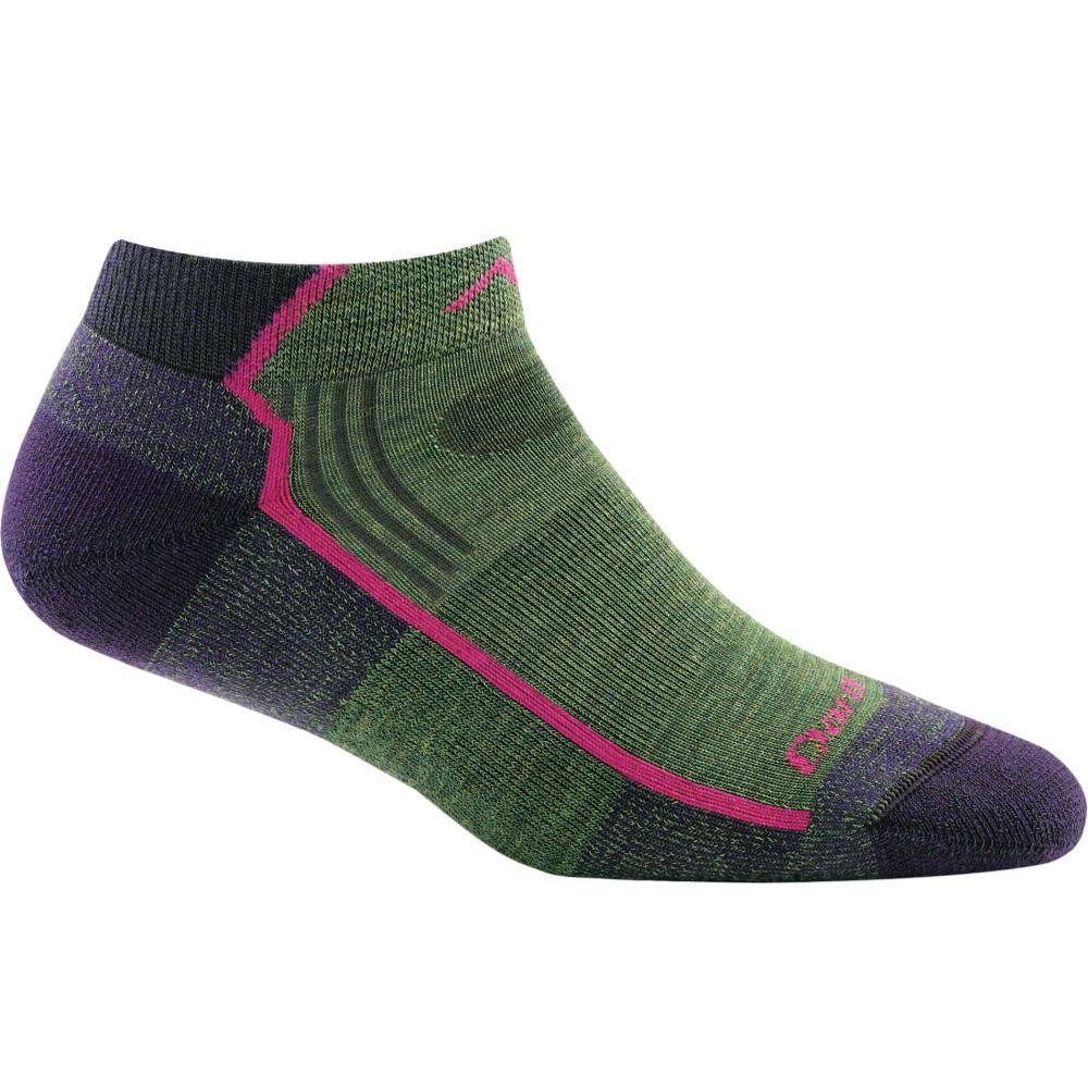 Darn Tough Women's Hiker No Show Light Cushion Socks MOSSHEATHR