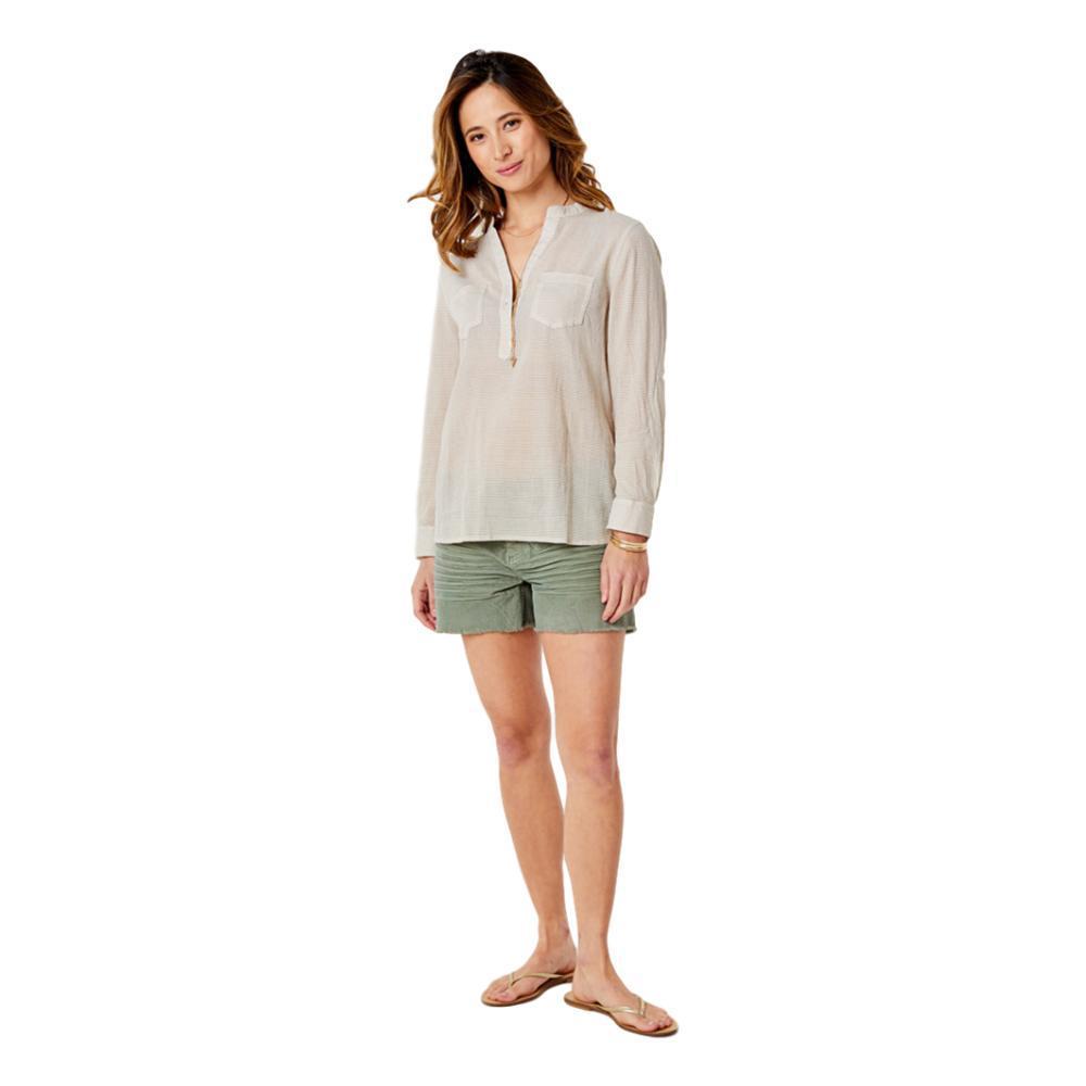 Carve Designs Women's Dylan Gauze Shirt STRAW_730