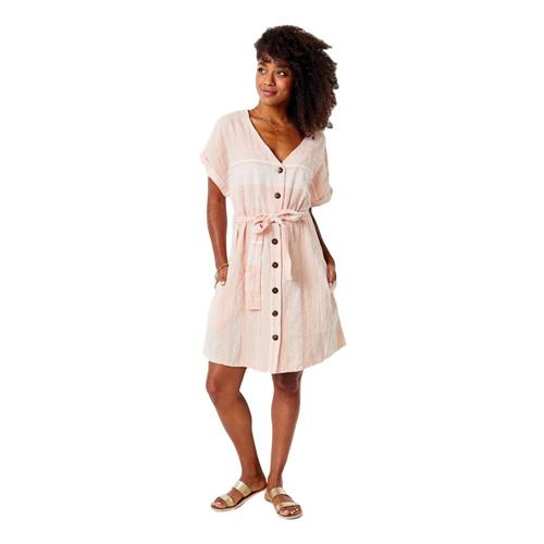 Carve Designs Women's Willow Dress Guava_657
