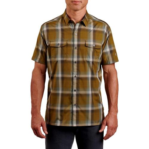 KUHL MenÕs Response Short Sleeve Shirt Marshgrn