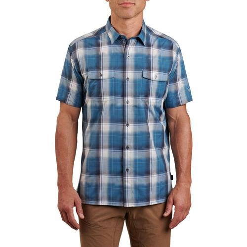 KUHL Men's Response Short Sleeve Shirt Saltcreek