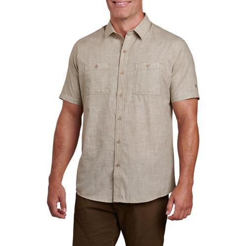 KUHL Men's Karib Short Sleeve Shirt Desertsage
