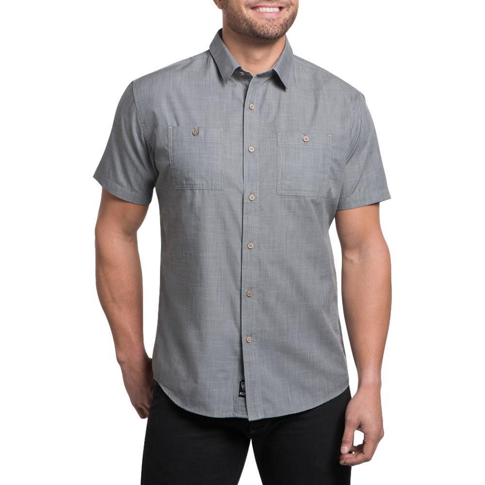 KUHL Men's Karib Short Sleeve Shirt STORM