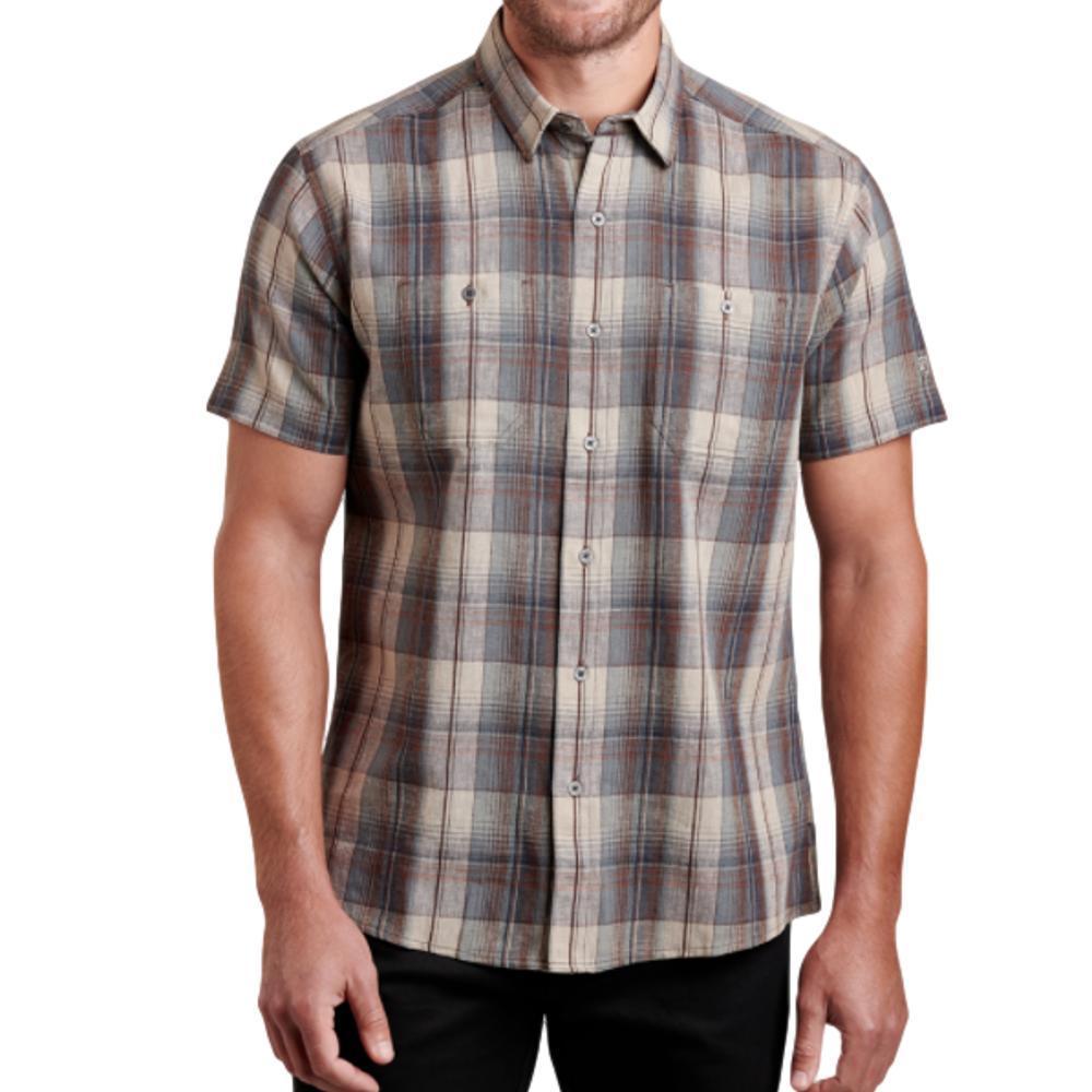 KUHL Men's SKORPIO Short Sleeve Shirt COBBLER
