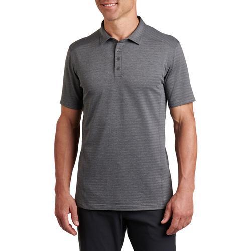 KUHL Men's AirKuhl Polo Shirt Carbon